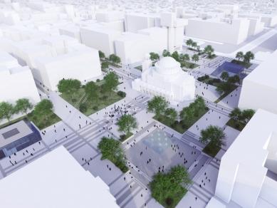 """Проект 32U: Живият площад – архитектурно-градоустройствено решение на пл. """"Света Неделя"""""""