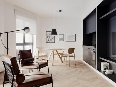 Проект 8B:Интериор на малък апартамент