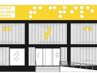 """Проект 35B: Културен център за тактилно изкуство """"TACTILE CULTURAL CENTER"""""""