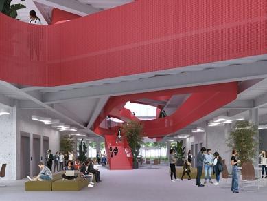 Проект 40B: идейно предложение за офис пространства със споделено използване.