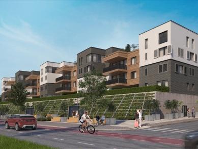 """Проект 65B: """"Алтернатива за Банишора - Комплекс от жилищни сгради с ниско застрояване и висока интензивност с обществено обслужване в него, гр. София"""""""