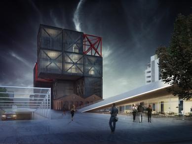 Динамичен център за изкуства #BOXPARK