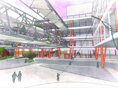 """Проект 42: Градска библиотека. Местност """"Атомен център"""""""