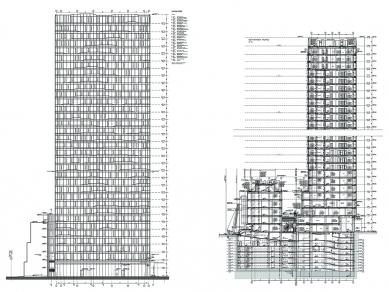 Проект 35: Сграда с 34 нива и подземни паркинги