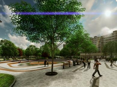 Проект 11: Централен градски парк, гр. Ловеч