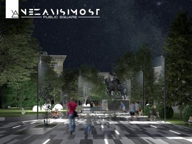 """Проект 1U: ПЛОЩАД  """"НЕЗАВИСИМОСТ"""", Дизайн на градска среда"""