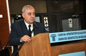 Арх. Георги Бакалов, председател на САБ
